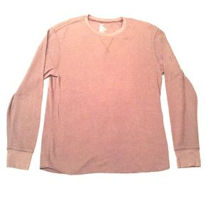 GAP Thermal Long Sleeve Tee - Clay
